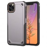 Mobiq extra beschermend iPhone 11 hoesje grijs - 1