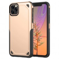 Mobiq extra beschermend armor hoesje iPhone 11 Pro Max goud - 1