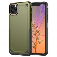Mobiq extra beschermend iPhone 11 Pro Max hoesje groen - 1