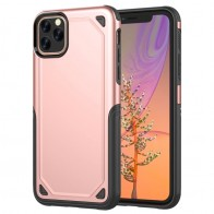 Mobiq extra beschermend iPhone 11 Pro Max hoesje roze - 1