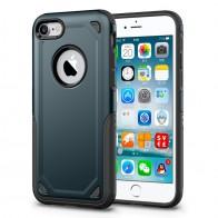 Mobiq Extra Stevig Hoesje iPhone 8/7 Blauw - 1
