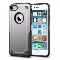 Mobiq Extra Beschermend Hoesje iPhone 8/7 Grijs - 1