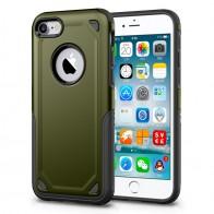 Mobiq Extra Stevig Hoesje iPhone 8/7 Groen - 1