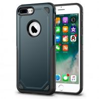 Mobiq Extra Stevig Hoesje iPhone 8 Plus/7 Plus Blauw - 1