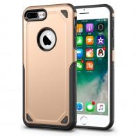 Mobiq Extra Stevig Hoesje iPhone 8 Plus/7 Plus Goud - 1