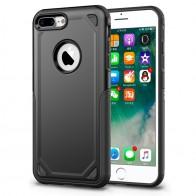 Mobiq Extra Stevig Hoesje iPhone 8 Plus/7 Plus Zwart - 1