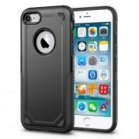 Mobiq Extra Stevig Hoesje iPhone 8/7 Zwart - 1