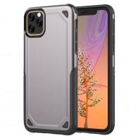 Mobiq Extra Beschermend Hoesje iPhone 12 /12 Pro Grijs - 1