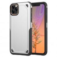 Mobiq Extra Beschermend Hoesje iPhone 12 Mini Zilver - 1