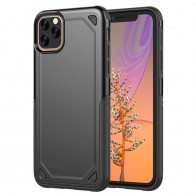 Mobiq Extra Beschermend Hoesje iPhone 12 Mini Zwart - 1