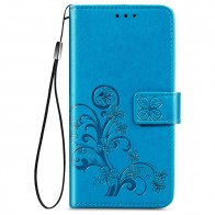 Mobiq Fashion Wallet Book Cover iPhone 12 Mini Blauw - 1