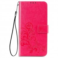 Mobiq Fashion Wallet Book Cover iPhone 12 Mini Roze - 1