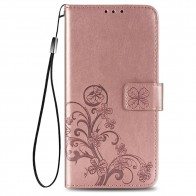 Mobiq Fashion Wallet Book Cover iPhone 12 6.1 Rose Gold - 1