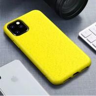 Mobiq Flexibel Eco Hoesje iPhone 11 Geel - 1