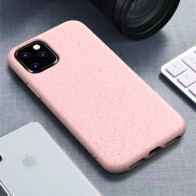 Mobiq Flexibel Eco Hoesje iPhone 11 Pro Max Roze - 1