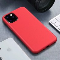 Mobiq Flexibel Eco Hoesje iPhone 11 Pro Rood - 1