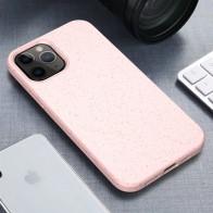 Mobiq Flexibel Eco Hoesje iPhone 12 6.1 inch Roze - 1