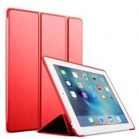 Mobiq Flexibele Tri-folio hoes iPad 10.2 Rood 01