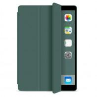 Mobiq Flexibele Tri-folio hoes iPad 9.7 2018/2017, iPad Air 2, iPad Air 1 Donkergroen - 1