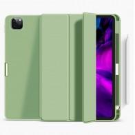 Mobiq Flexibele Folio Hoes iPad Pro 12.9 inch (2021) Mintgroen - 1