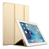 Mobiq Flexibele Tri-folio hoes iPad Air 10.5 Goud 01