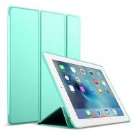 Mobiq Flexibele Tri-folio hoes iPad Air 10.5 Turquoise 01