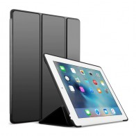 Mobiq Flexibele Tri-folio hoes iPad Air 10.5 Zwart 01