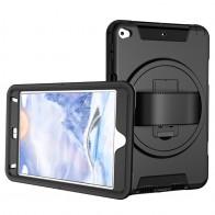 Mobiq Draaibaar Hand Strap Hoesje iPad Mini 5 Zwart - 1