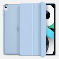 Mobiq Hard Case Folio Hoesje iPad Air (2020) Lichtblauw - 1