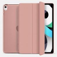 Mobiq Hard Case Folio Hoesje iPad Air (2020) Roze - 1