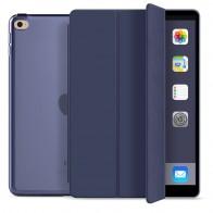 Mobiq Hard Case Folio Hoes iPad 9.7 inch (2017/2018) Blauw - 1