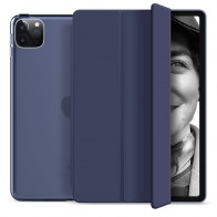Mobiq Hard Case Folio Hoesje iPad Pro 11 (2021) Blauw - 1