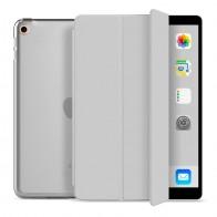 Mobiq Trifold Folio Hard Case iPad 10.2 (2020/2019) Grijs - 1