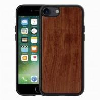 Mobiq Houten Hoesje iPhone SE (2020)/8/7 Palisander - 1