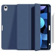 Mobiq Flexibele TriFold Hoes iPad Air 10.9 (2020) Blauw - 1
