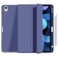 Mobiq Flexibele TriFold Hoes iPad Air 10.9 (2020) Paars - 1