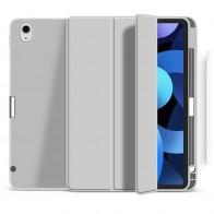 Mobiq Flexibele TriFold Hoes iPad Air 10.9 (2020) Grijs - 1