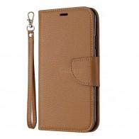 Mobiq Klassieke Portemonnee Hoes iPhone 11 Pro Bruin - 1