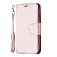 Mobiq Klassieke Portemonnee Hoes iPhone 11 Rose Gold - 1