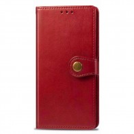 Mobiq Klassieke Wallet Case iPhone 12 6.1 Rood - 1