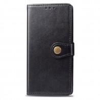 Mobiq Klassieke Wallet Case iPhone 12 6.1 Zwart - 1