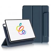 Mobiq Magnetische Folio Hoes iPad Pro 11 inch (2021/2020/2018) en iPad Air (2020) Blauw - 1