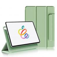 Mobiq Magnetische Folio Hoes iPad Pro 11 inch (2021/2020/2018) en iPad Air (2020) Lichtgroen - 1