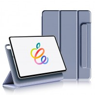 Mobiq Magnetische Folio Hoes iPad Pro 11 inch (2021/2020/2018) en iPad Air (2020) Paars - 1