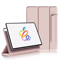 Mobiq Magnetische Folio Hoes iPad Pro 11 inch (2021/2020/2018) en iPad Air (2020) Roze - 1