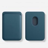 Mobiq MagSafe Houder voor Pasjes Blauw - 1