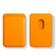 Mobiq MagSafe Houder voor Pasjes Geel - 1