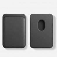 Mobiq MagSafe Houder voor Pasjes Zwart - 1