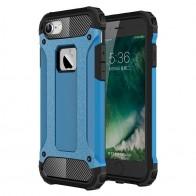 Mobiq - Rugged Armor Phone 8/7 Hoesje Blauw - 1