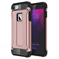 Mobiq - Rugged Armor Phone 8/7 Hoesje Rose Goud - 1